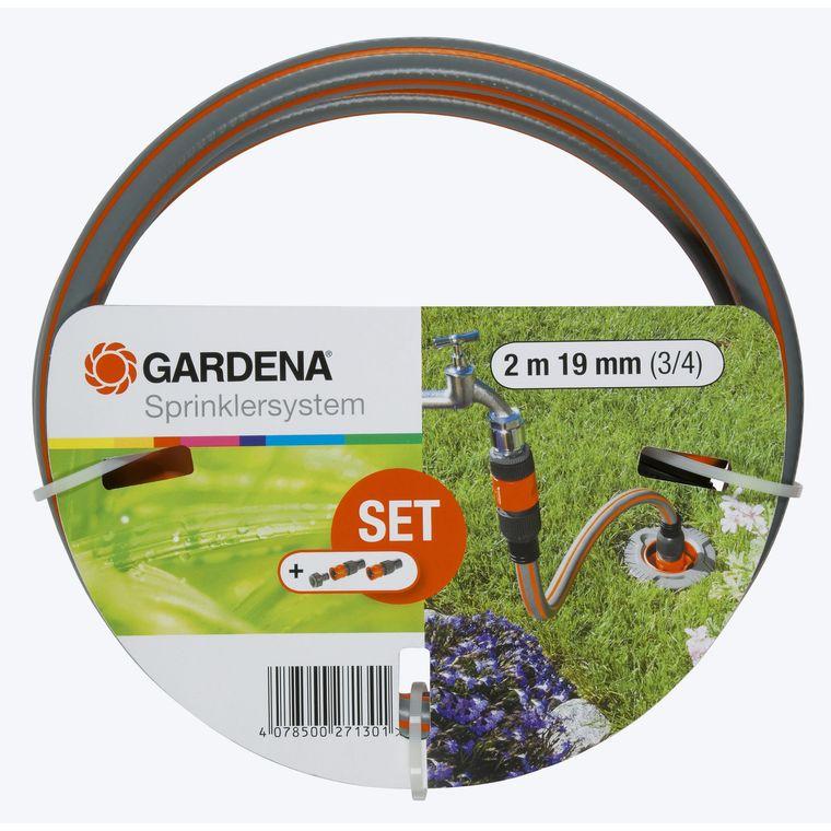 Équipement de branchement coloris gris Ø 19 mm x 2 m 386933