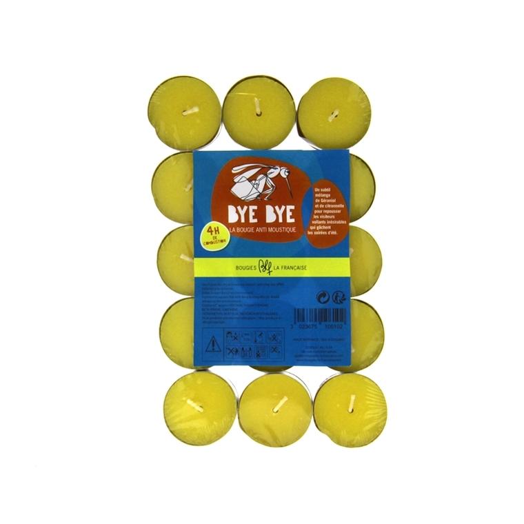 Sachet de 30 bougies chauffe-plat anti moustiques 386986