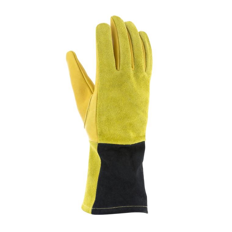 Gants Robustes en cuir coloris jaune Taille 10 388188