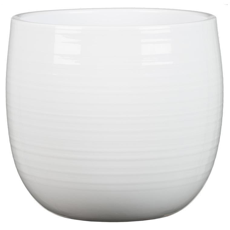 Cache-pot 765 Alaska Ø 21x H 20 cm Céramique émaillée 388823