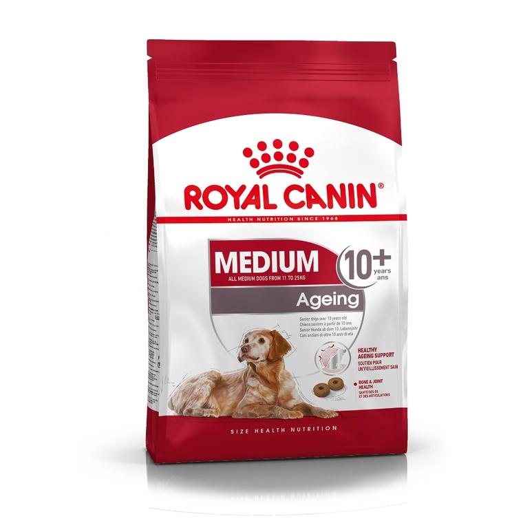 Croquettes Royal Canin Medium Ageing10+ 3 kg 38929