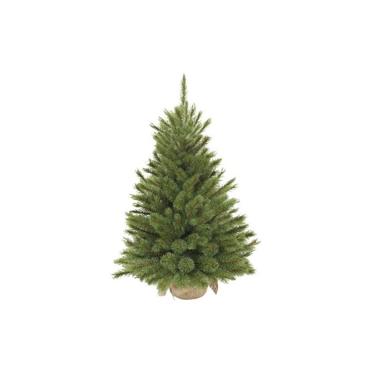 Sapin de Noël artificiel vert Forest avec toile de jute 60 cm 57599