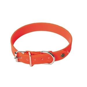 Collier chien réfléchissant 25mm / 45cm orange