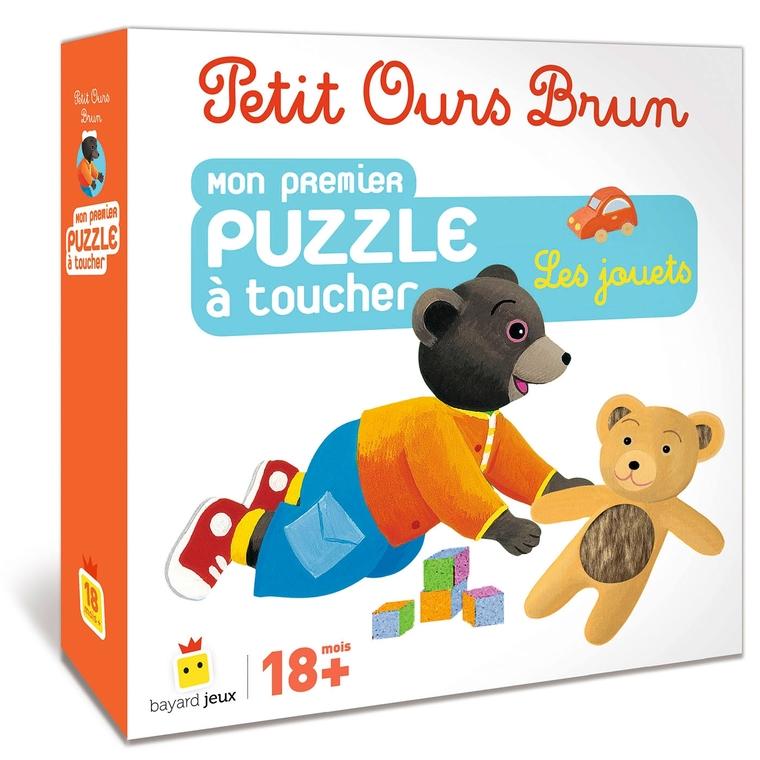 Petit Ours Brun Mon Premier Puzzle à Toucher Les Jouets à partir de 18 mois Bayard  Jeux 399064