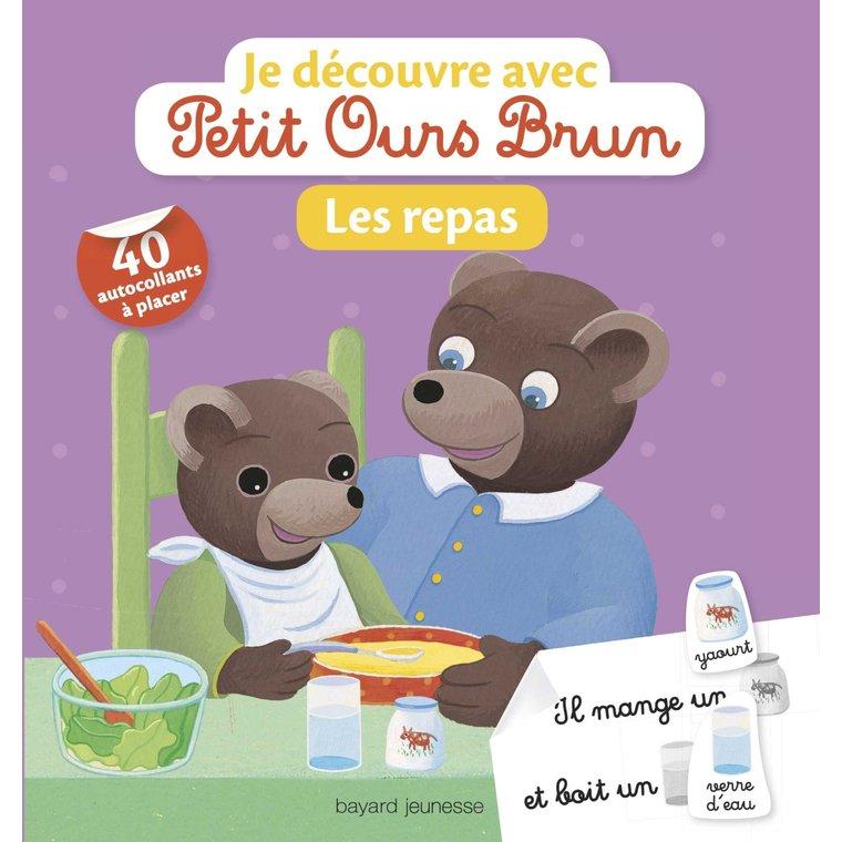 Les Repas Je Découvre avec Petit Ours Brun 2 à 4 ans Bayard Jeunesse 399069