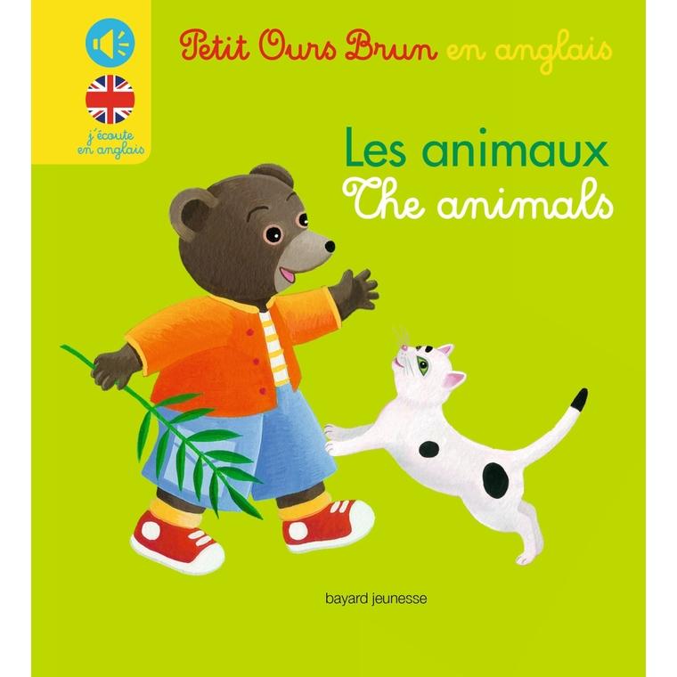 Les Animaux Mini Sonore Petit Ours Brun en Anglais 2 à 4 ans Bayard Jeunesse 399228