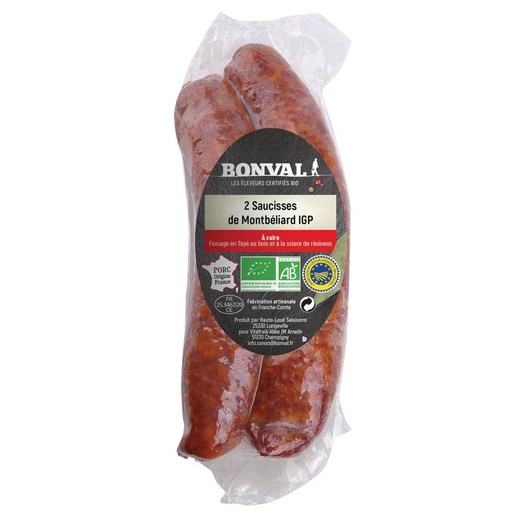 Saucisse de Montbéliard IGP x 2 / 300g 399853
