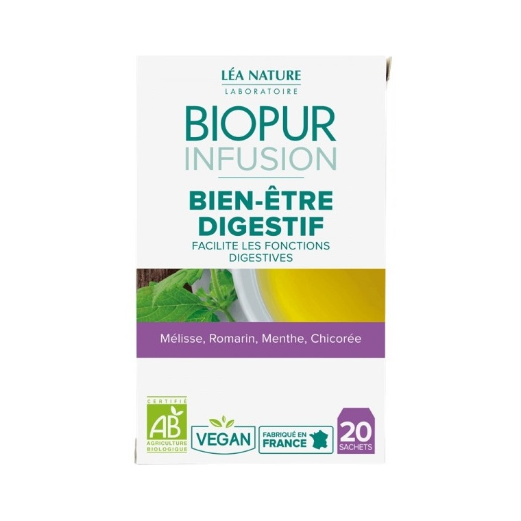 0fc2305a3a0 Infusion bien-être digestif bio en boite de 20 sachets ...