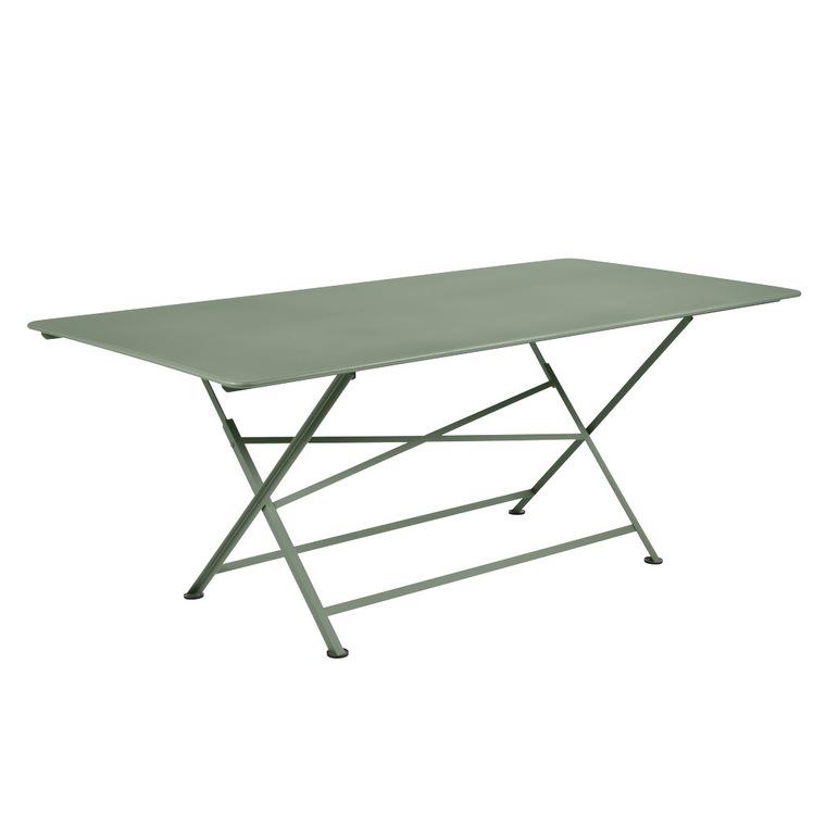 Table pliante Cargo coloris vert cactus de 190 x 90 x 74 cm ...