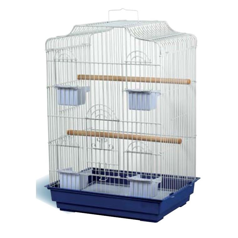 Cage Oiseaux Marron : Volières AUTRES MARQUES Animalerie   Botanic®