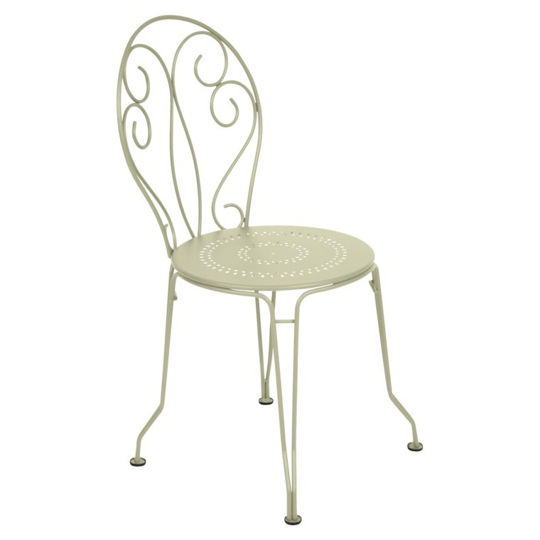 Chaise Montmartre couleur Tilleul : Tables et chaises de jardin ...