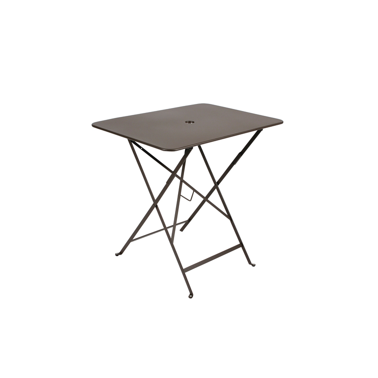 Table de jardin pliante Bistro FERMOB rouille L77xl57xh74 : Tables ...