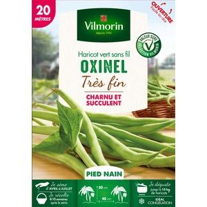 Semences pour haricot nain de la variété oxinel - 20 m 400181