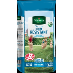 Gazon ultra résistant label rouge Vilmorin 5 kg 400198