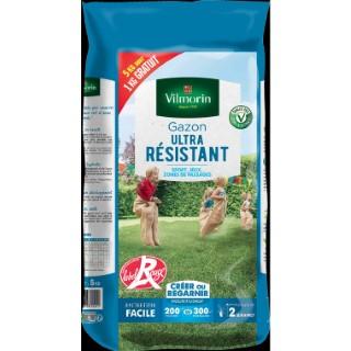 Gazon ultra résistant label rouge Vilmorin 5 kg dont 1 kg offert 400199