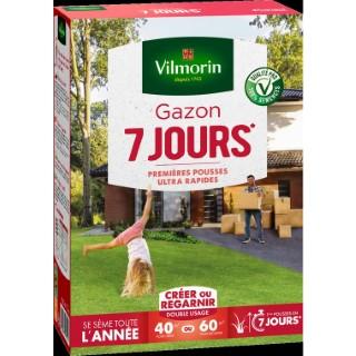 Gazon prise rapide en 7 jours Vilmorin 1 kg 400209