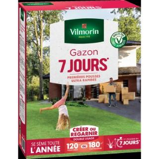Gazon prise rapide en 7 jours Vilmorin 3 kg 400210