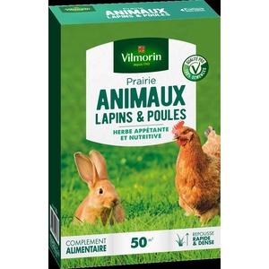 Prairie pour lapins et poules Vilmorin 500 g 400219