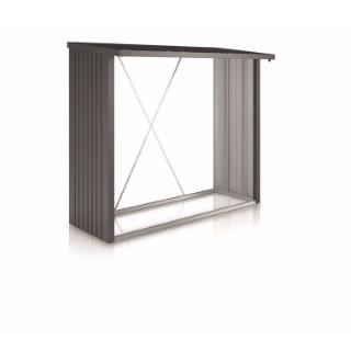 WoodStock 230 gris foncé métallique 229x102x199 cm 400358