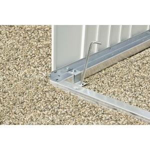 Cadre de sol pour armoire à outils 88x78x4 cm 400499