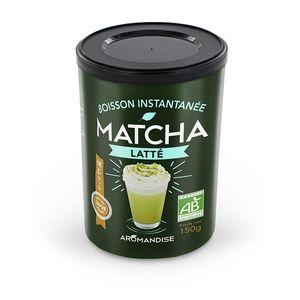 Matcha latte instantanée bio en tube de 150 g 402394