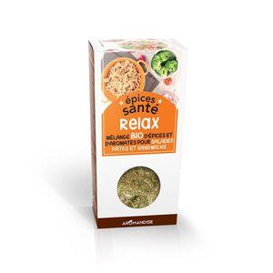 Mélange d'épices santé bio effet relax en boite de 70 g 402400