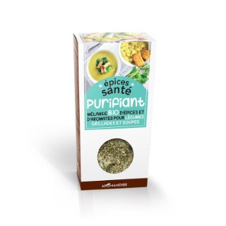 Mélange d'épices santé bio effet purifiant en boite de 70 g 402402