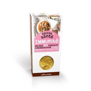 Mélange d'épices santé bio effet immunité en boite de 70 g 402403