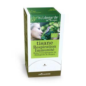 Tisane bio effet respiration et immunité en boite de 27 g 402405