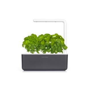 Potager d'intérieur smart garden 3 gris L30xP12xH20 cm 402416