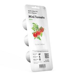 Lot de 3 recharges de graines de mini tomates pour smart garden 402417