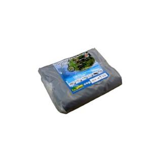 Bâche pour bassin 0,6 mm Aquaflexiliner noire 5,02x5 m 402490