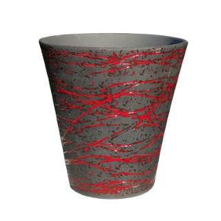 Pot gamme sioux terre de lave rouge Ø 38 cm 402627