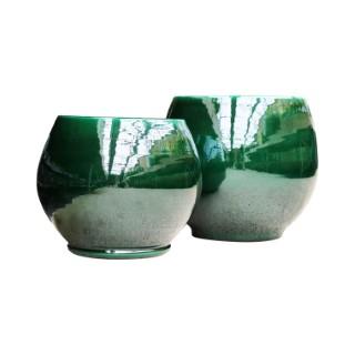 Pot vert gamme bahia Ø 25 cm 402664