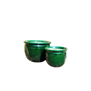 Pot vert gamme Louxor Ø 22 cm 402690