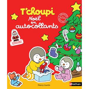 T'choupi Noël en autocollants éditions Éveil petite enfance 402923