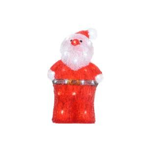 Père Noël lumineux 40 Led 402944