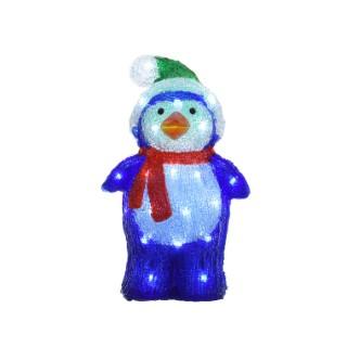 Pingouin lumineux 40 Led 402946