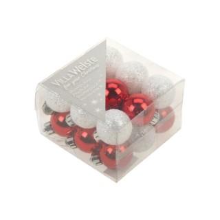 Boule Plastique Ø30 mm Rouge 634484