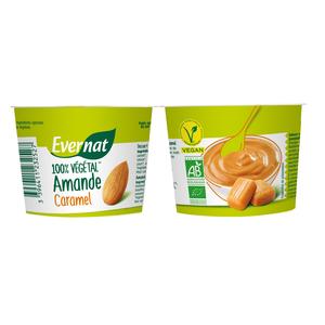 Dessert végétal aux amandes et au caramel bio 200 g 404027