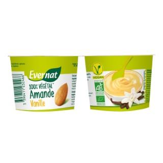 Dessert végétal aux amandes et à la vanille bio 200 g 404028