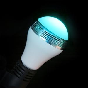 Bulb-ampoule connectée LED RGB E27 Ø 8 cm 404037