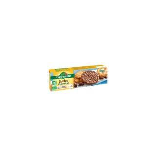 Sablés au chocolat au lait Bonneterre bio 120 g 404348