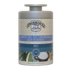 Gros sel de Camargue aux 3 poivres bio 90 g 404783
