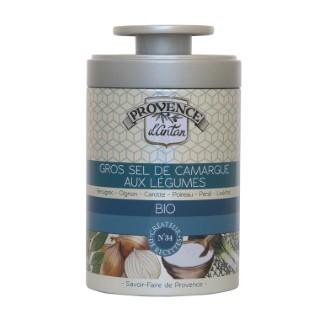 Gros sel de Camargue aux légumes bio 90 g 404784