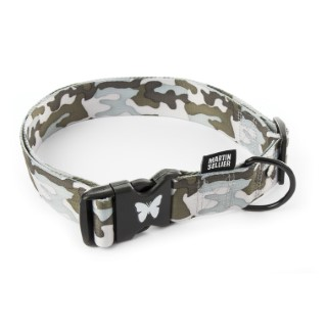 Collier Camouflage gris pour chien - 4x75/90 cm 404834
