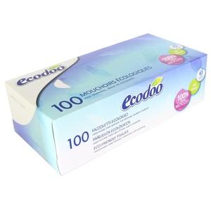 Boite de 100 mouchoirs Ecodoo 405004
