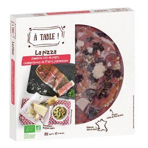Pizza jambon cru de pays champ 400g 405465