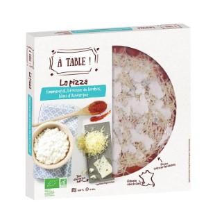 Pizza emmental brousse bleu 400g 405468