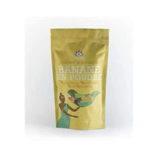 Banane en poudre en paquet jaune de 125 g 405618